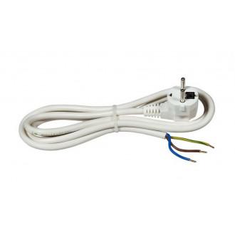 Kabl za šporet 16 A 250 V 3500 W, beli, 2m bulk